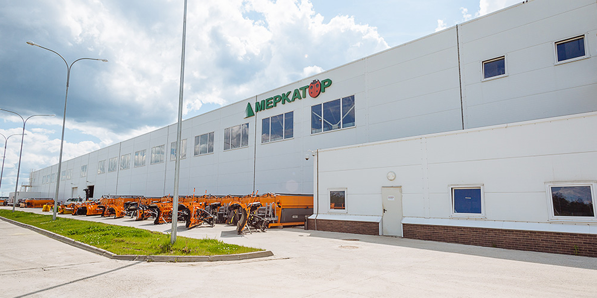 Localization of municipal equipment production for «Merkator Kaluga»